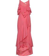 chara dress maxiklänning festklänning rosa by malina