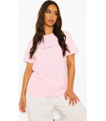 her vibe is powerful t-shirt, light pink