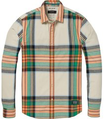 regular fit flanel shirt