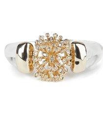 women's alexis bittar crystal burst hinge bracelet