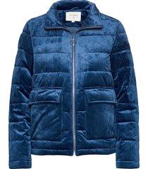 kleo jacket fodrad jacka blå cream
