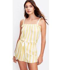 loft petite striped pajama cami