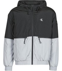 windjack calvin klein jeans silver blocking jacket