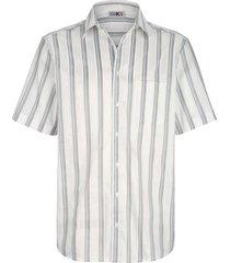 overhemd roger kent wit::zilverkleur
