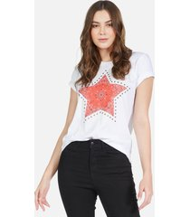 croft bandana star - xl white