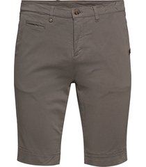 cashmere touch - dolan shorts shorts chinos shorts grå sand