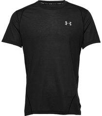 m ua streaker 2.0 shift crew t-shirts short-sleeved svart under armour