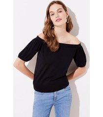 loft off the shoulder sweater
