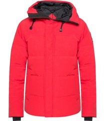 'macmillan' hooded quilted jacket