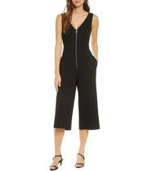 women's forest lily sleeveless gaucho jumpsuit