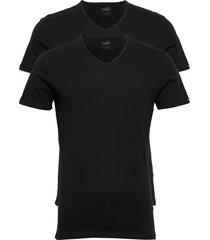 puma basic 2p v-neck pyjamas svart puma
