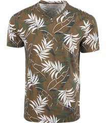 sun + stone men's floral print t-shirt, created for macy's