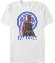 fifth sun men's distressed falcon short sleeve crew t-shirt