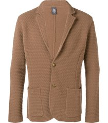 eleventy slim-fit cardigan - brown