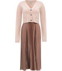 'andrea' dress w/ cardigan