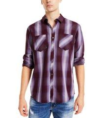 inc men's leo plaid shirt, created for macy's