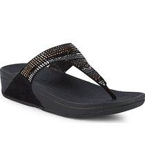 strobe thong sandals