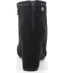botines para mujer marca xti color negro xti - negro