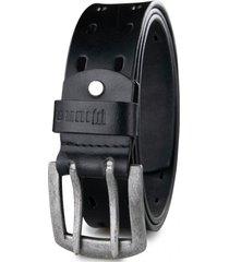 cinturón cuero genuino dante negro miura