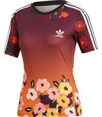 camiseta adidas slim tee multicolorido