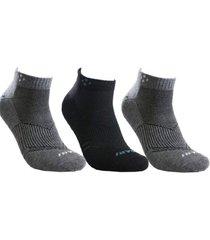 kit 3 pares de meia masculina cano curto
