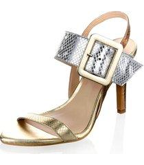 sandaletter alba moda silverfärgad::guldfärgad::rosa