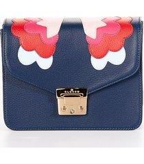 bolsos azul oscuro clover 824757