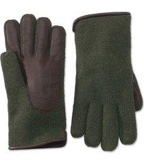 lambswool knit glove, lg/xl
