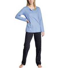 calida night lovers buttoned pyjama