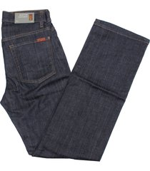 7 for all mankind austyn relaxed straight jeans in dark clean