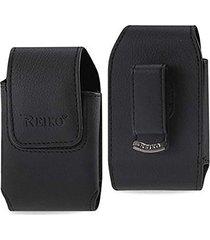 "reiko wireless vertical pouch blackberry 8330 black 4.3""x2.4""x0.6"" - colored"