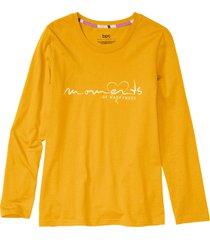 maglia pigiama (giallo) - bpc bonprix collection