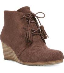 dr. scholl's dakota wedge booties women's shoes