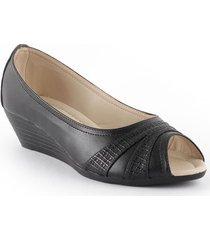 priceshoes sandalia confort dama 4721020negro