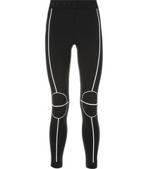 blackbarrett court line leggings