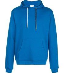 john elliott relaxed fit beach hoodie - blue