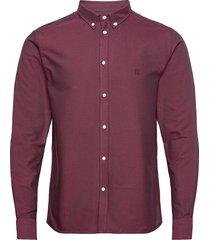 christoph oxford shirt overhemd casual rood les deux