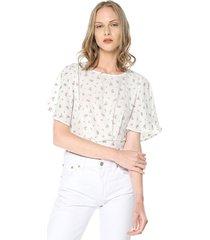 blusa blanco active