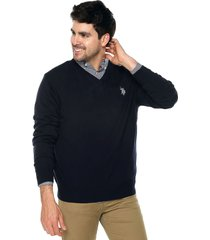 saco azul navy us polo assn