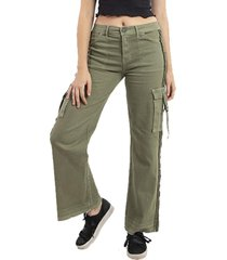 jeans flair verde mujer buffalo chile