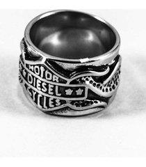 anillo gris diesel motoquero