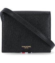 thom browne card holder with shoulder strap