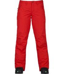 pantalon de nieve wbsocietypt rojo burton