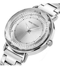 reloj mini focus mf0040l-2 mujer plata