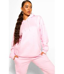 basic oversized hoodie, pale pink