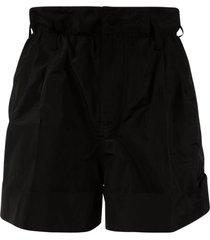 moncler high- waist shorts