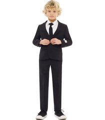 boy's opposuits knight two-piece suit with tie (toddler, little boy & big boy)