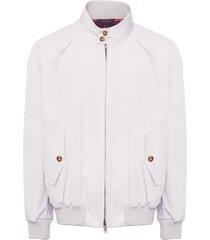 baracuta g9 modern classic mist harrington jacket brcps0001-1007