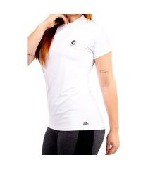 camiseta feminina poliamida mini lion zaiden branca