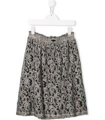 andorine lace skirt - grey